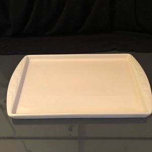 Longaberger Woven Traditions Ivory Baking Sheet